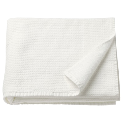 SALVIKEN Bath towel, white, 28x55 ""