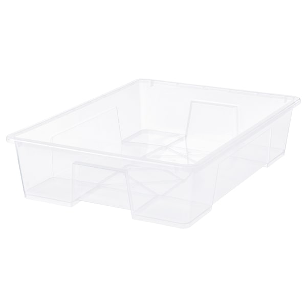 "SAMLA Box, clear, 30 ¾x22x7 ""/15 gallon"