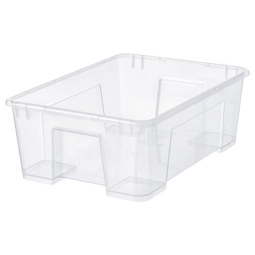 """SAMLA box clear 15 ¼ """" 11 """" 5 ½ """" 3 gallon"""