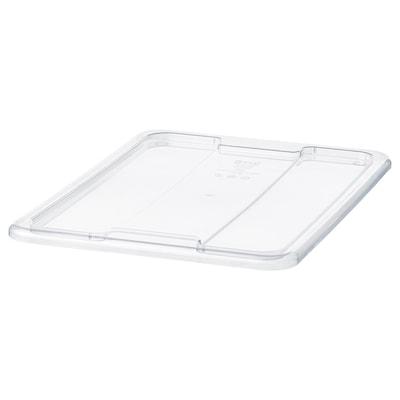 SAMLA Lid for box, 3/6 gallon, clear