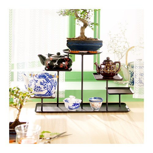 SAMMANHANG Display stand IKEA On this stand you can create a personal still life with your favorite things, colorful fruits or green plants.