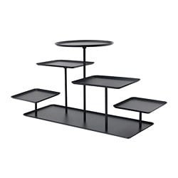 SAMMANHANG display stand, black