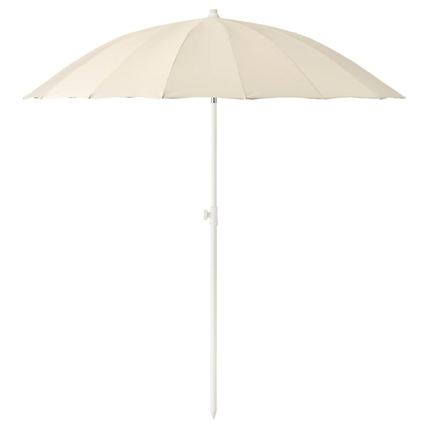 SAMSÖ Umbrella, tilting/beige, 78 3/4 ""