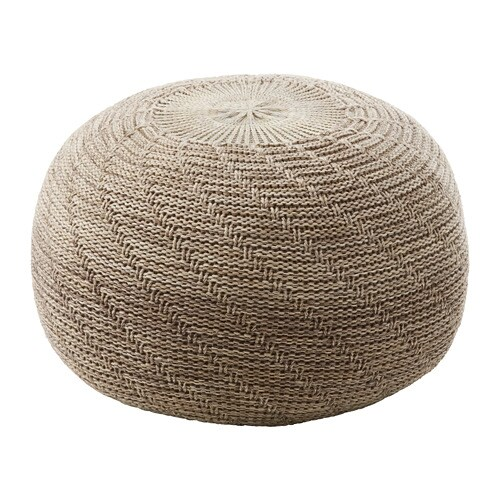 Sandared pouffe ikea - Ikea pouf contenitore ...