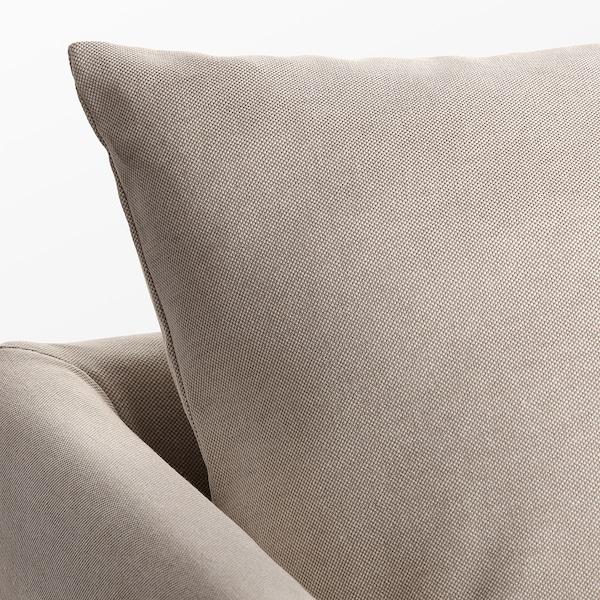 "SANDBACKEN sofa Lofallet beige 83 1/2 "" 30 3/4 "" 27 1/8 "" 27 1/2 "" 16 1/2 """
