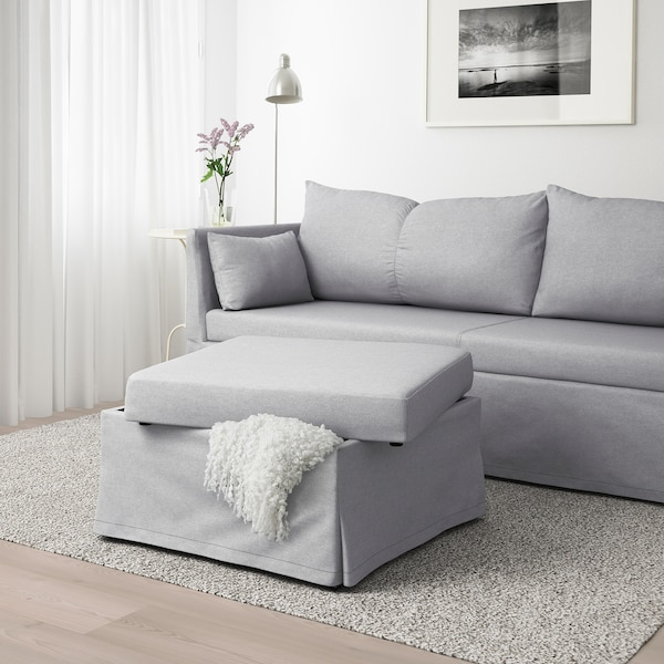 IKEA SANDBACKEN Sleeper sectional, 3-seat