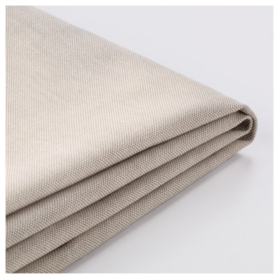 SANDBACKEN Cover for 3-seat corner sectional, Lofallet beige