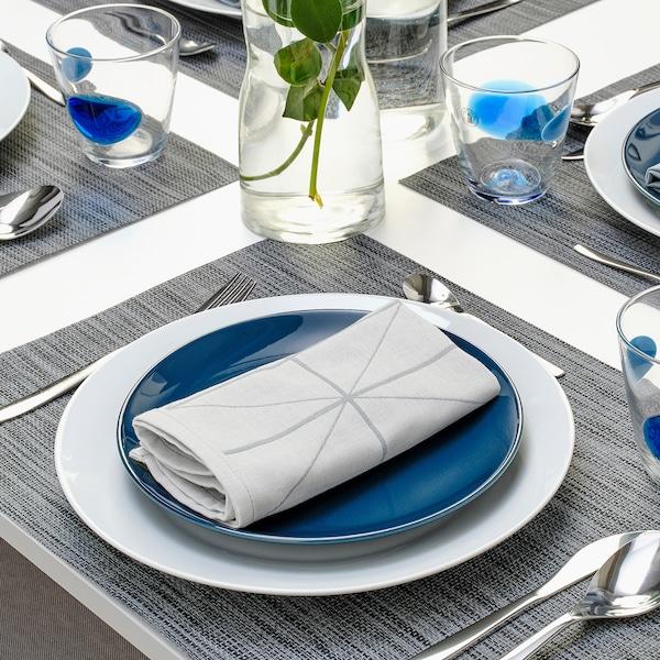 """SANDVIVA Dish towel, blue, 14x14 """""""