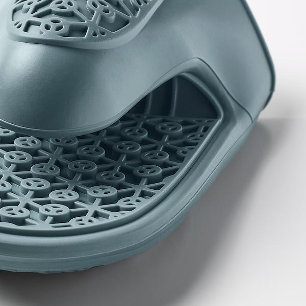 SANDVIVA Oven mitt, silicone/blue