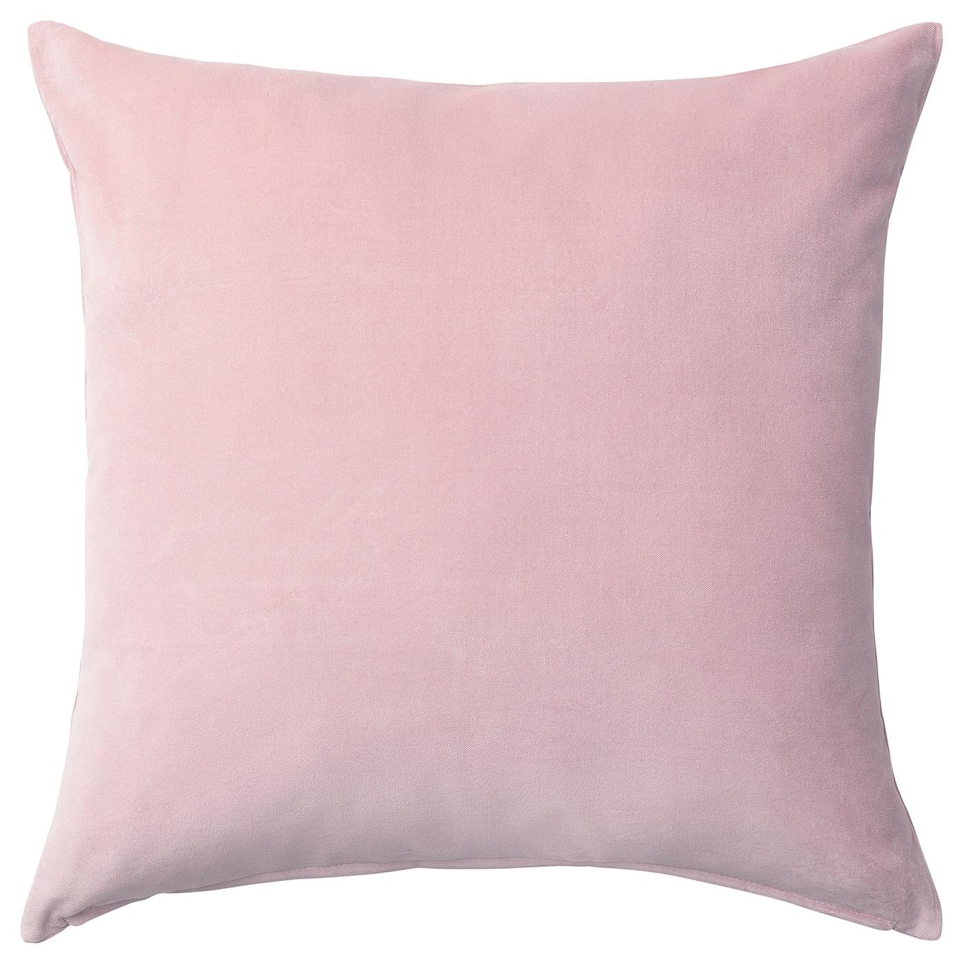 Sanela Cushion Cover Light Pink Ikea