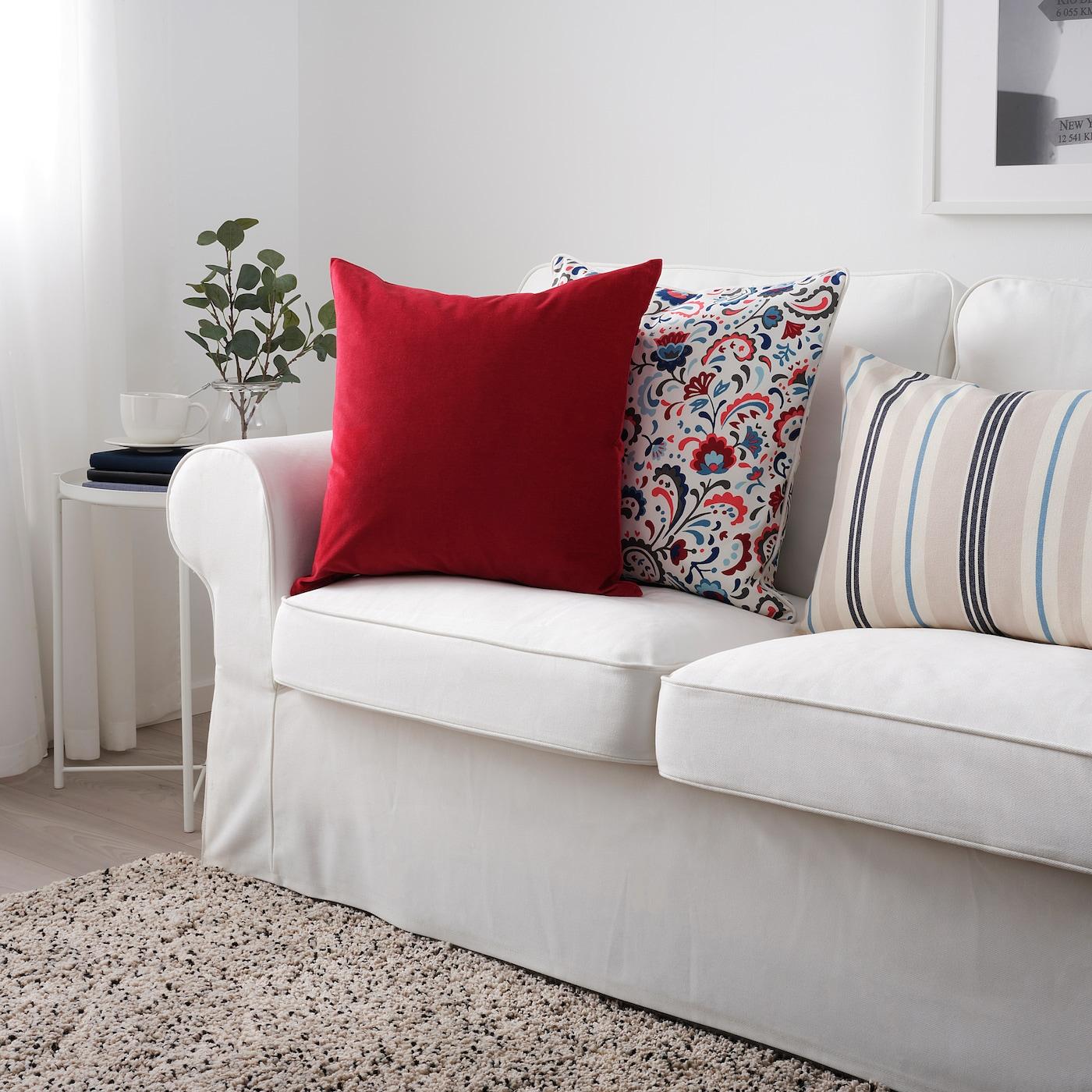 Sanela Cushion Cover Red Ikea