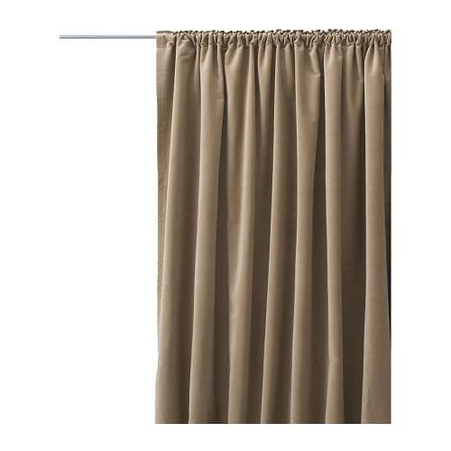 here are the curtains front and back from the ikea site
