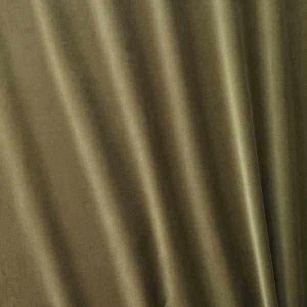 """SANELA Room darkening curtains, 1 pair, olive-green, 55x98 """""""
