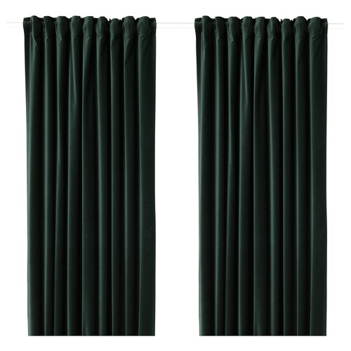 IKEA SANELA Room darkening curtains, 1 pair