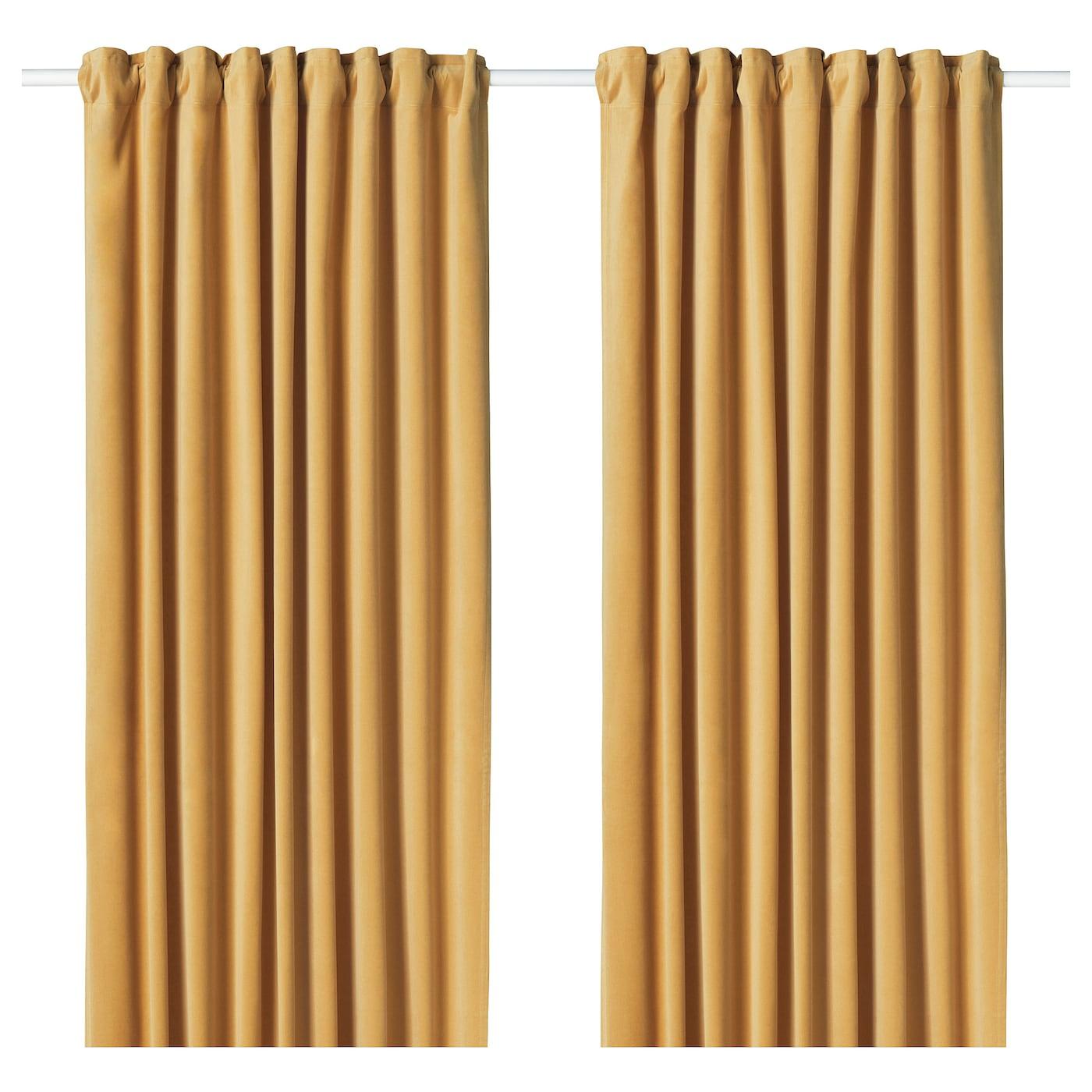 Sanela Room Darkening Curtains 1 Pair