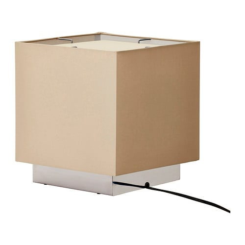 SÅNGEN Table lamp , light brown Diameter: 10