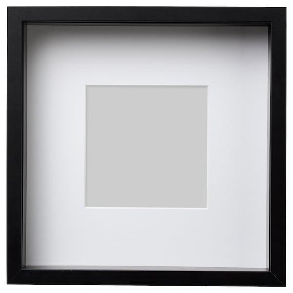 """SANNAHED Frame, black, 9 ¾x9 ¾ """""""