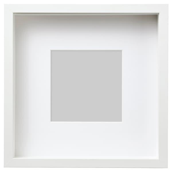 "SANNAHED Frame, white, 9 ¾x9 ¾ """