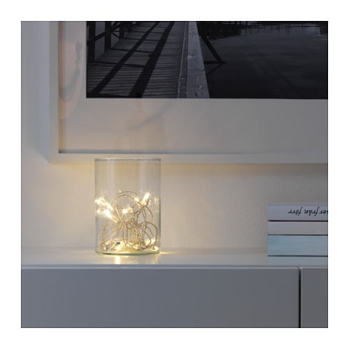 SÄRDAL LED light chain with 12 lights IKEA You can personalize the light chain to match the season or your style.
