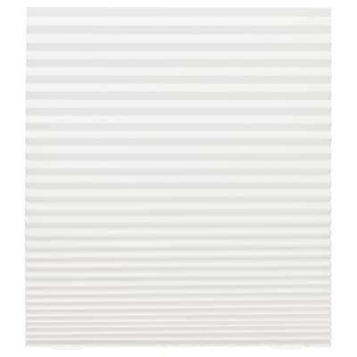 "SCHOTTIS Pleated shade, white, 35 ½x74 ¾ """