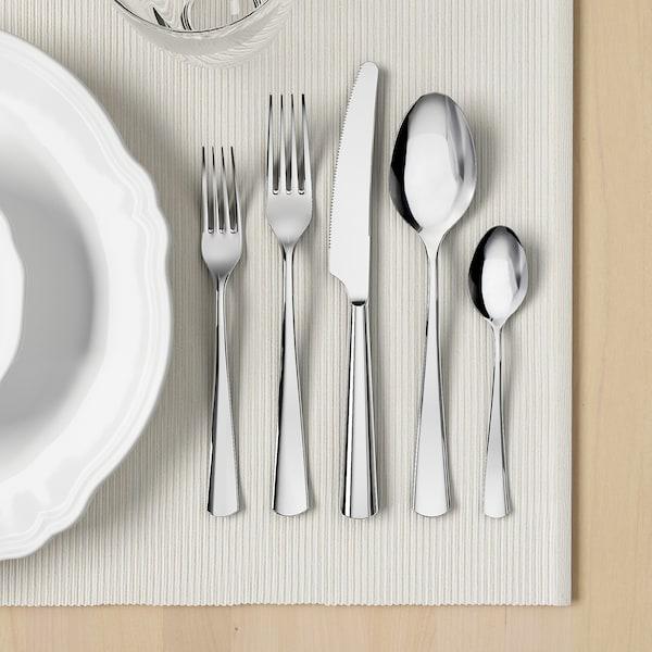 SEDLIG 20-piece flatware set, stainless steel