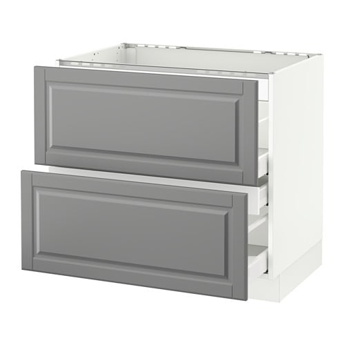 Us Cabinet: SEKTION Base Cabinet F/cooktop W/3 Drawers