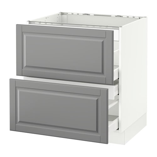SEKTION Base Cabinet F/cooktop W/3 Drawers