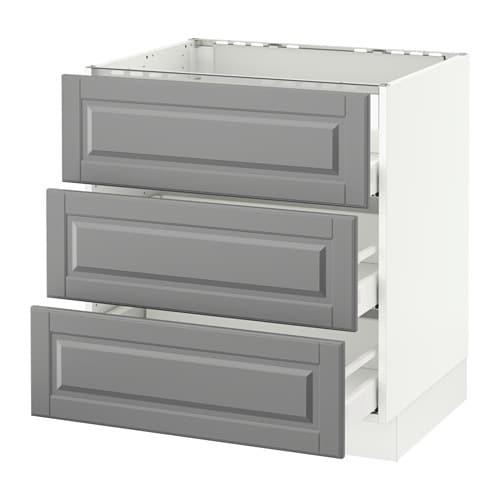 Ikea Kitchen Drawer: SEKTION Base Cabinet F/cooktop W/3drawers