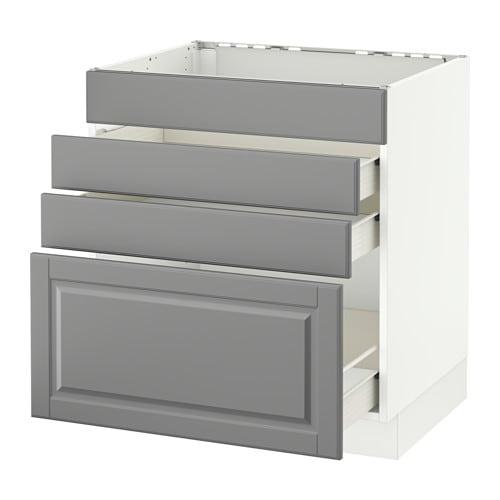 Ikea Kitchen Drawer: SEKTION Base Cabinet F/cooktop W/3 Drawers