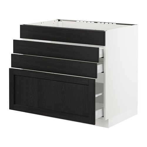 Picture Of Under Cooktop Kitchen Drawers: SEKTION Base Cabinet F/cooktop W/3 Drawers