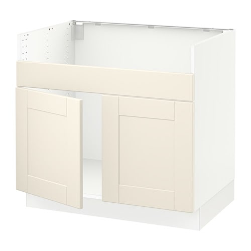 Sektion base cabinet f domsj 2 bowl sink ikea for Ikea sektion kitchen cabinets