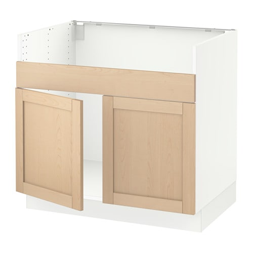 Ikea farmhouse sink base cabinet for Ikea sektion kitchen cabinets