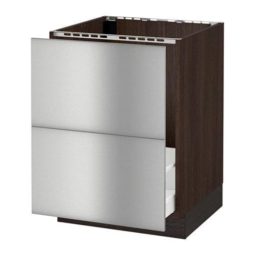 sektion base cabinet f sink recycling wood effect
