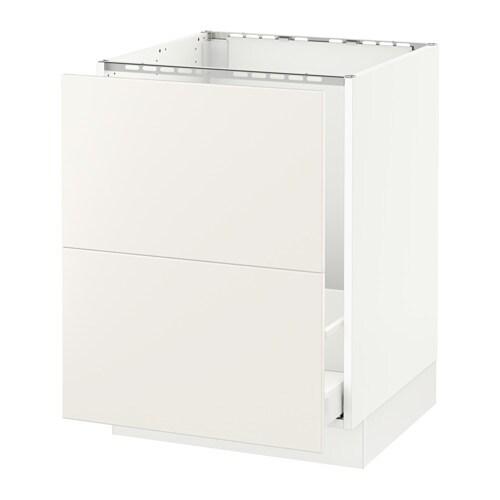 Ikea Kitchen Veddinge White: SEKTION Base Cabinet F/sink & Recycling