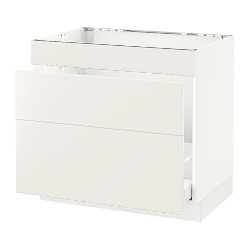 SEKTION Base Cabinet F/sink U0026 Waste Sorting