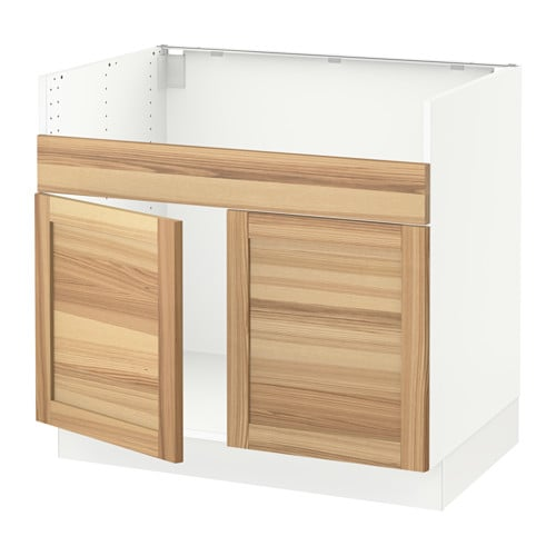 Sektion Base Cabinet For Havsen 2 Bowl Sink Torhamn