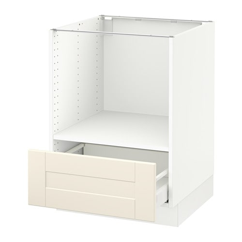 SEKTION Base Cabinet For Microwave+1 Drawer