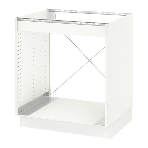 sektion base cabinet for oven m rsta white ikea. Black Bedroom Furniture Sets. Home Design Ideas