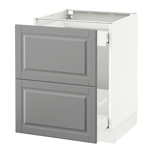 ikea kitchen cabinet catalog sektion base cabinet for recycling bodbyn gray 24x24x30 4456