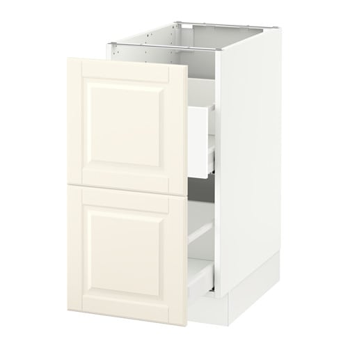 Ikea Kitchen White Cabinets: SEKTION Base Cabinet For Recycling