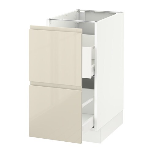 Sektion Base Cabinet For Recycling White Voxtorp High