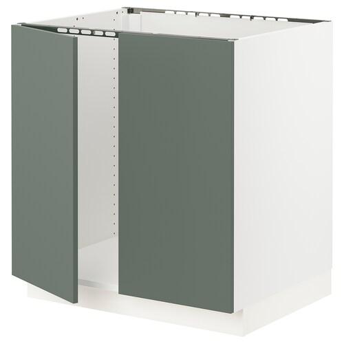 IKEA SEKTION Base cabinet for sink + 2 doors