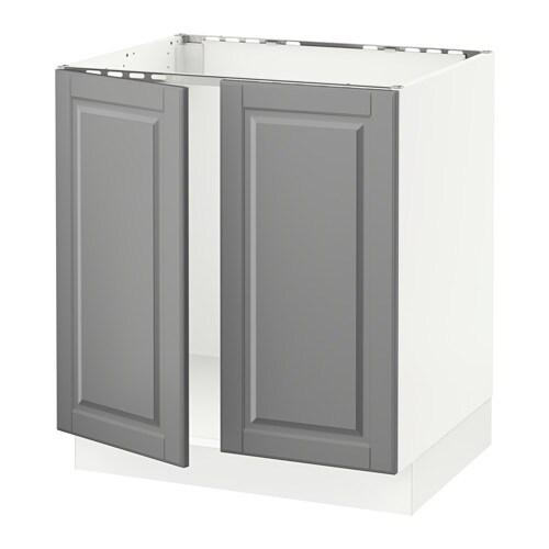 Sektion Base Cabinet For Sorting 1 Door: SEKTION Base Cabinet For Sink + 2 Doors