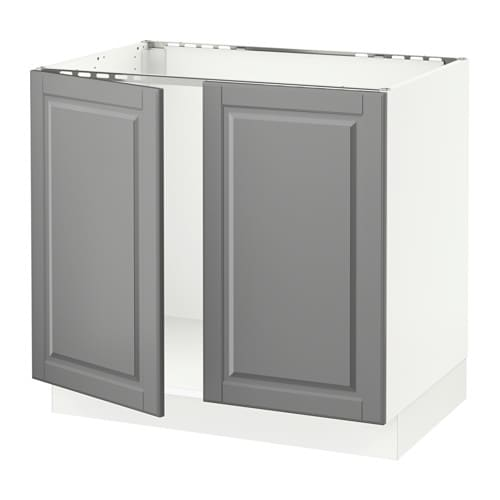 SEKTION Base Cabinet For Sink + 2 Doors