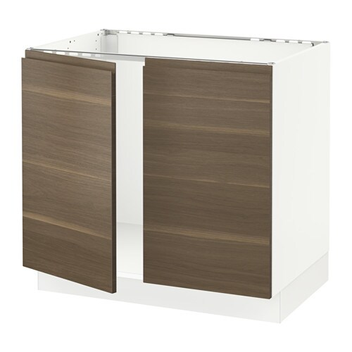 Us Cabinet: SEKTION Base Cabinet For Sink + 2 Doors