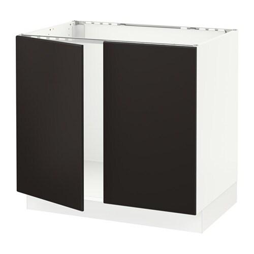 Sektion Base Cabinet For Sink 2 Doors