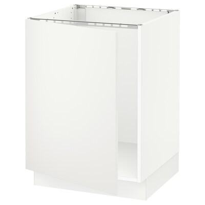 "SEKTION base cabinet for sink white/Häggeby white 24 "" 24 3/4 "" 24 "" 30 """