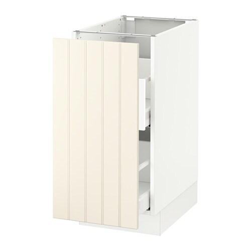 Ikea Door Style Of The Week Hittarp: SEKTION Base Cabinet For Sorting + 1 Door