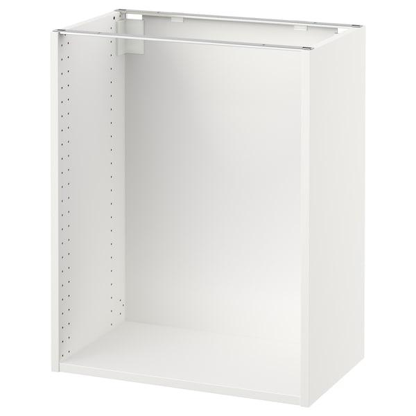 "SEKTION Base cabinet frame, white, 24x14 3/4x30 """