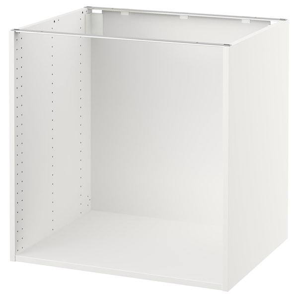 "SEKTION Base cabinet frame, white, 30x24x30 """